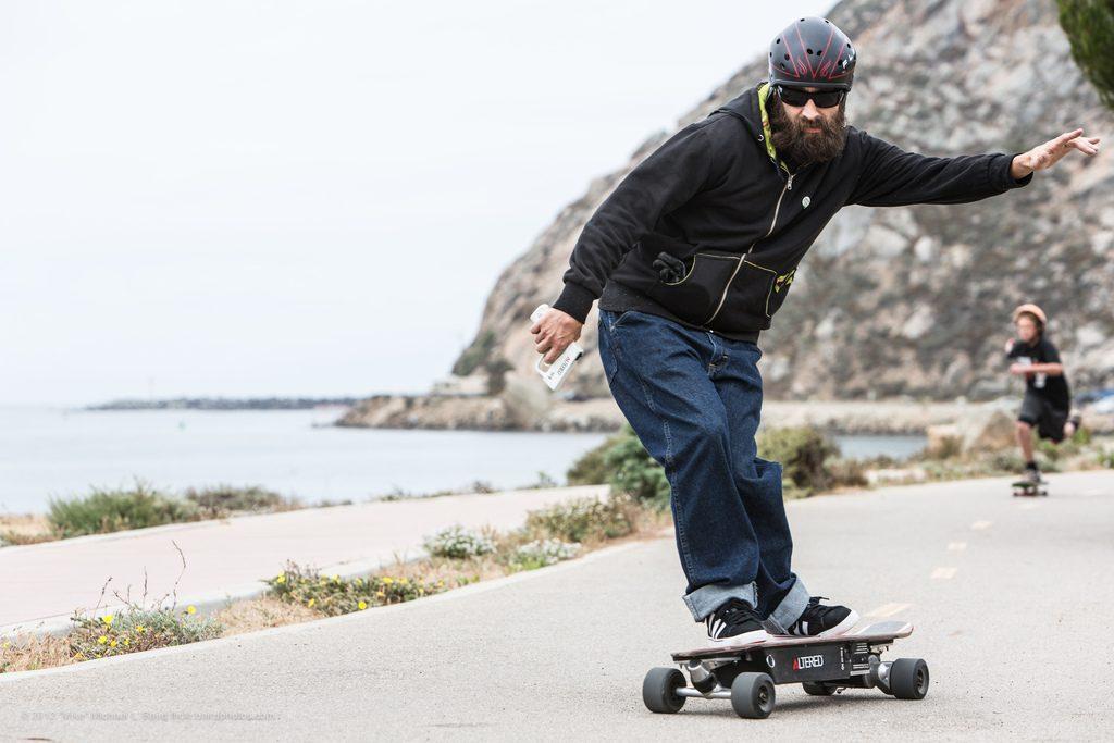 skate électrique glisse urbaine