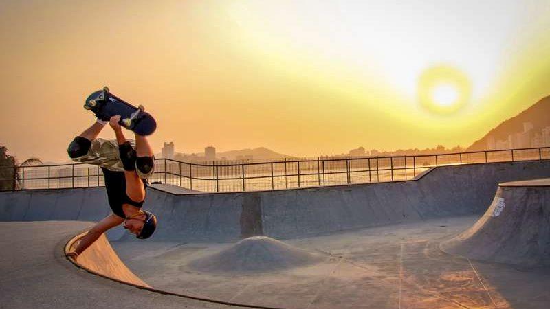 skate en skatepark